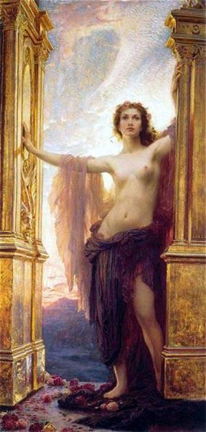 The Gates Of Dawn   Herbert Draper   Oil Painting
