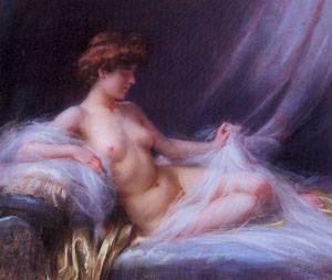 Reclining Nude | Delphin Enjolras | Oil Painting