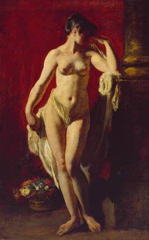Standing Female Nude | William Etty | Oil Painting