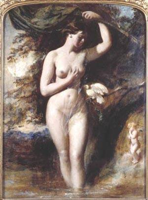 The Fairy Of The Fountain | William Etty | Oil Painting