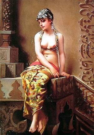 Enchantress   Ricardo Falero Luis   Oil Painting