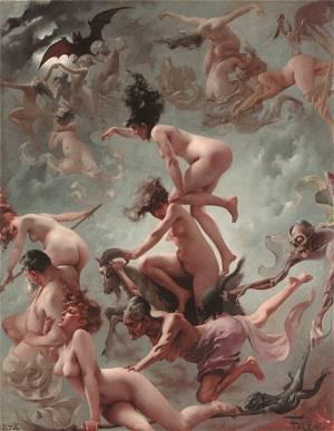 Vision Of Foust | Ricardo Falero Luis | Oil Painting