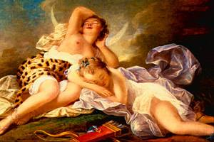 Diana At Rest | Fragonard Jean-Honore | Oil Painting