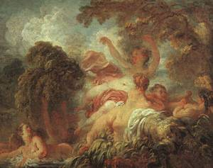 The Bathers | Fragonard Jean-Honore | Oil Painting