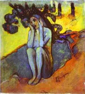 Eve Don't Listen To The Liar | Paul Gauguin | Oil Painting