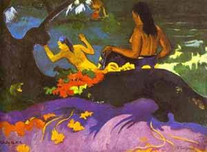 Fatara Te Miti Near The Sea | Paul Gauguin | Oil Painting
