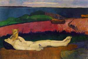 Loss Of Virginity | Paul Gauguin | Oil Painting