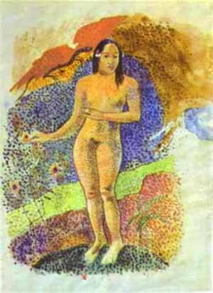 Tahitian Eve | Paul Gauguin | Oil Painting
