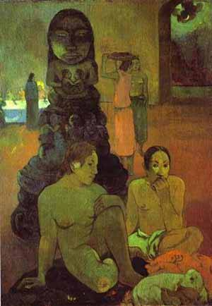The Great Buddha | Paul Gauguin | Oil Painting