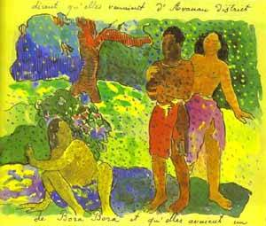 The Messengers Of Oro | Paul Gauguin | Oil Painting