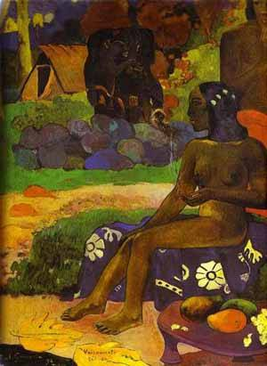 Vairaumati Tei Oa Her Name Is Vairaumati | Paul Gauguin | Oil Painting
