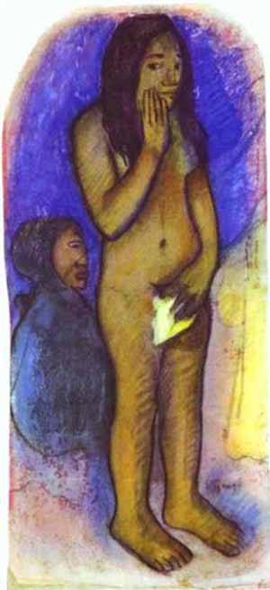 Words Of The Devil | Paul Gauguin | Oil Painting