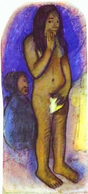 Words Of The Devil | Paul Gauguin | Oil Painting
