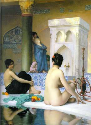 After The Bath | Jean Leon Gerome | Oil Painting