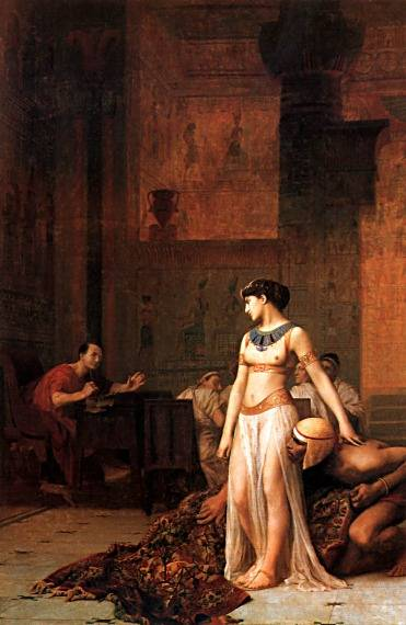 Cleopatra Before Caesar | Jean Leon Gerome | Oil Painting