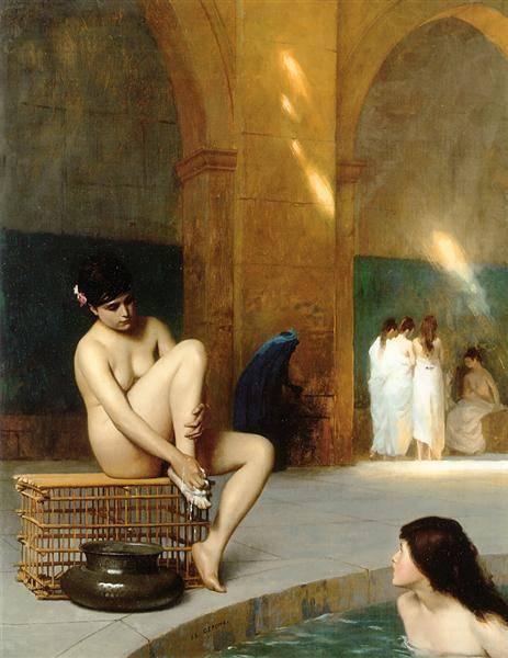 Femme Nue | Jean Leon Gerome | Oil Painting