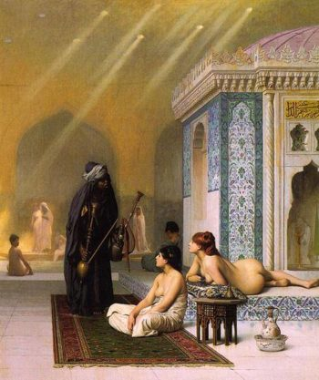 Harem Pool | Jean Leon Gerome | Oil Painting