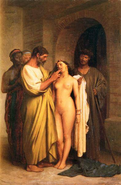 Purchase Of A Slave | Jean Leon Gerome | Oil Painting