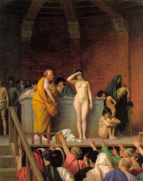 Slave Auction | Jean Leon Gerome | Oil Painting