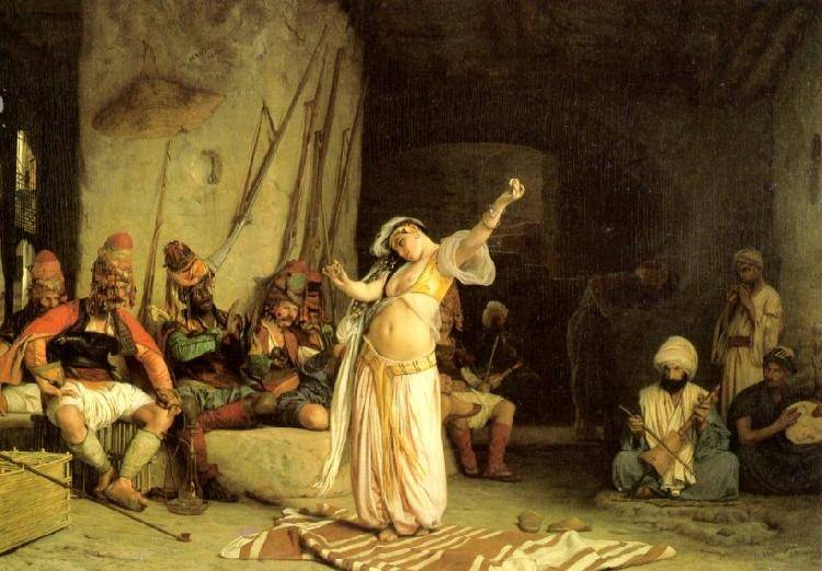 The Dance Of The Almeh | Jean Leon Gerome | Oil Painting