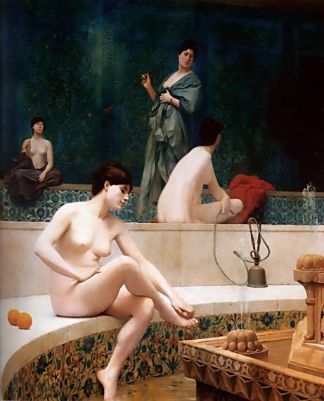 The Harem Pool | Jean Leon Gerome | Oil Painting