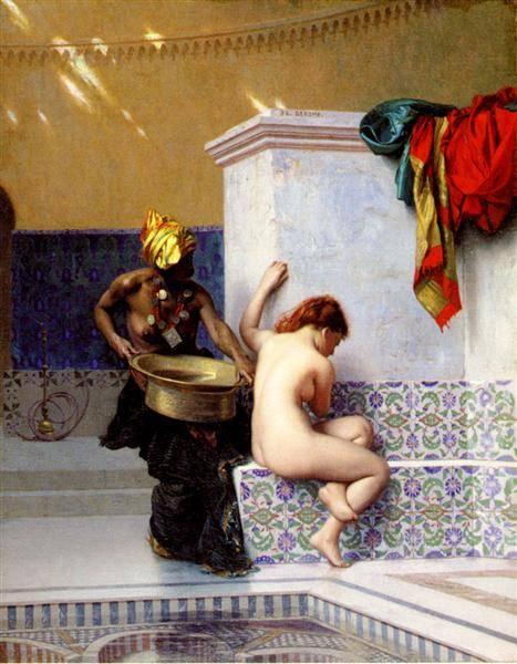 The Moorish Bath | Jean Leon Gerome | Oil Painting