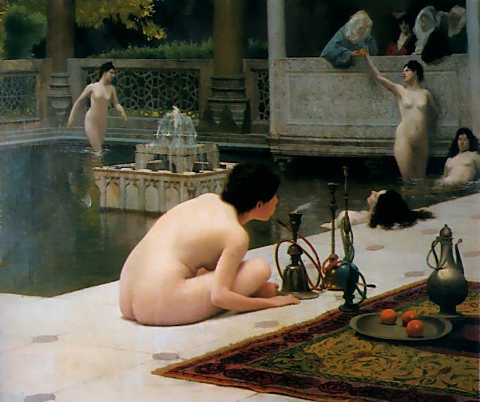 The Pipelighter | Jean Leon Gerome | Oil Painting