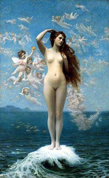 Venus Rising The Star | Jean Leon Gerome | Oil Painting