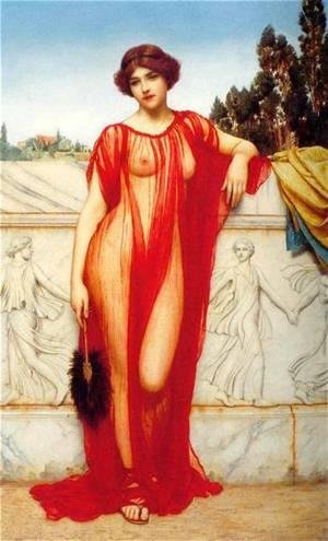 Athenais | Godward John William | Oil Painting