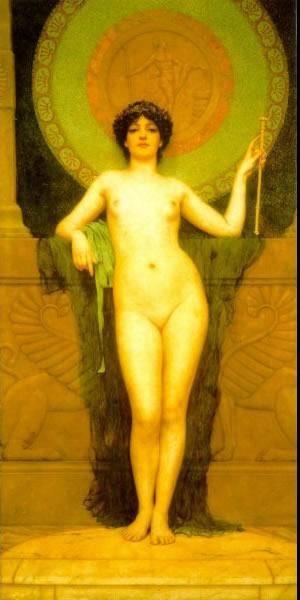 Campaspe | Godward John William | Oil Painting
