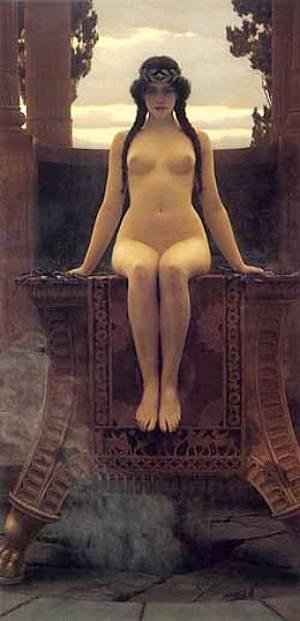 The Delphic Oracle | Godward John William | Oil Painting