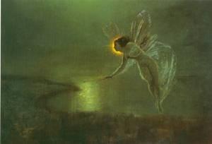 Spirit Of The Night | John Atkinson Grimshaw | Oil Painting