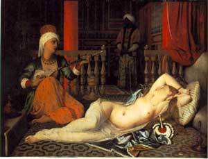 Odalisque With A Slave | Jean Auguste Dominique Ingres | Oil Painting