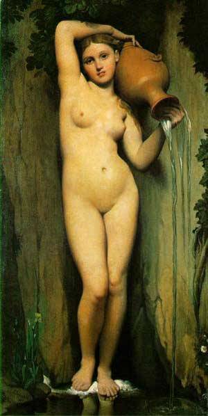 Spring | Jean Auguste Dominique Ingres | Oil Painting