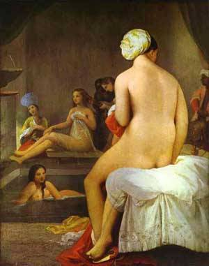 The Small Bather | Jean Auguste Dominique Ingres | Oil Painting