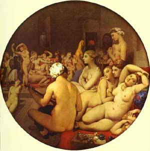 The Turkish Bath | Jean Auguste Dominique Ingres | Oil Painting