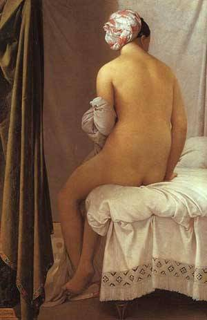 The Valpicon Bather | Jean Auguste Dominique Ingres | Oil Painting