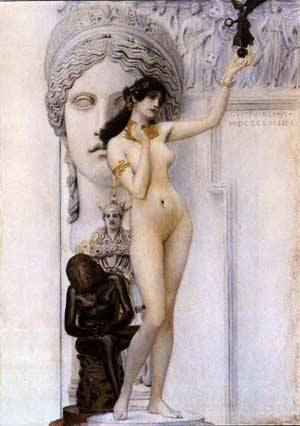Allegory Of Sculpture | Gustave Klimt | Oil Painting
