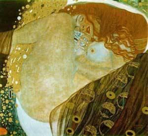 Danae | Gustave Klimt | Oil Painting