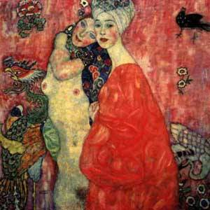 Girlfriends | Gustave Klimt | Oil Painting