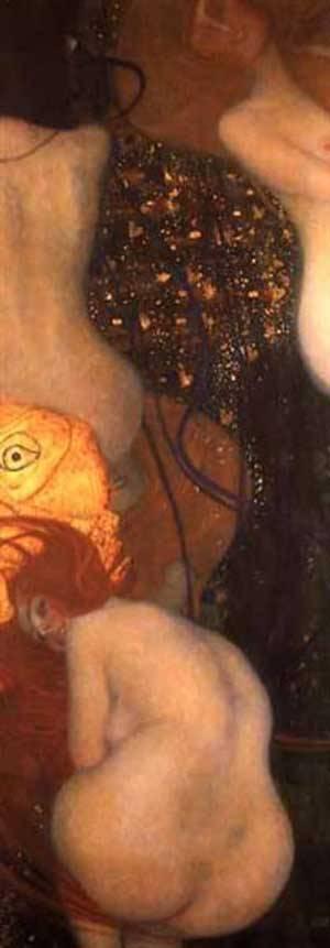 Goldfish | Gustave Klimt | Oil Painting