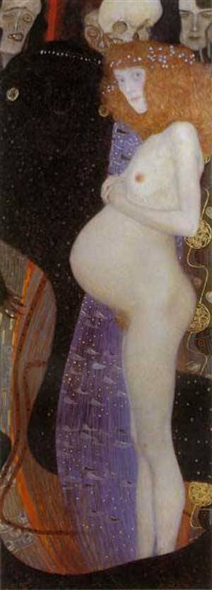 Hope1 | Gustave Klimt | Oil Painting