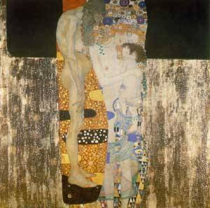 Three Ages Of Woman | Gustave Klimt | Oil Painting