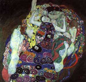 Virgin | Gustave Klimt | Oil Painting