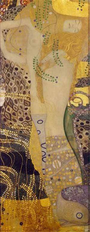 Water Serpents1 | Gustave Klimt | Oil Painting