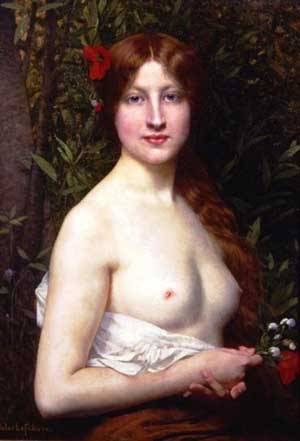 Flora | Jules Joseph Lefebvre | Oil Painting