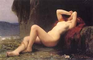Mary Magdalen   Jules Joseph Lefebvre   Oil Painting