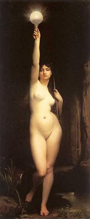 Truth | Jules Joseph Lefebvre | Oil Painting