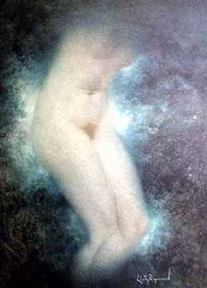 Nude | Levy-Dhurmer Lucien | Oil Painting