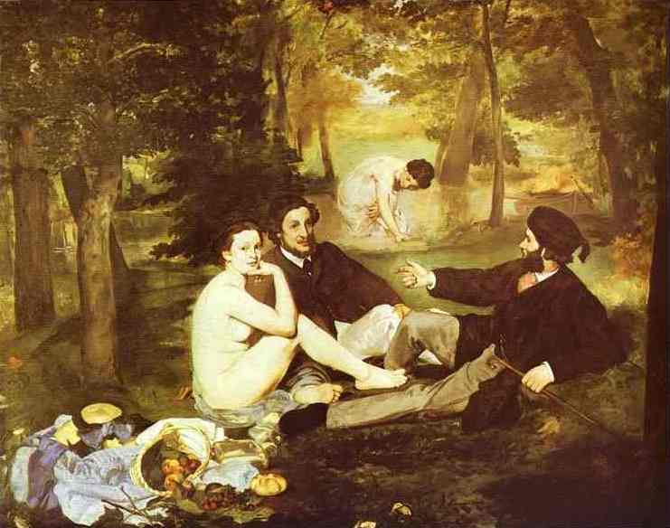 The Picnic | Edouard Manet | Oil Painting